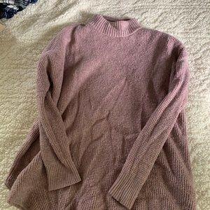 AE mock turtleneck sweater